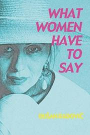 Cover of: What Women Have to Say