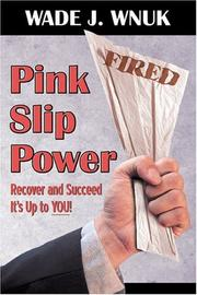 Cover of: Pink Slip Power