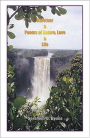 Cover of: Kaieteur & Poems of Nature, Love and Life