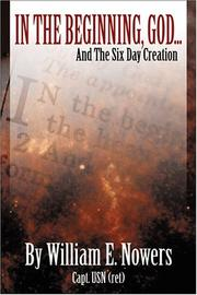 Cover of: In the Beginning God... and the Six Day Creation