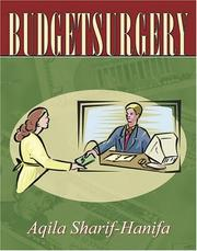 Cover of: Budgetsurgery