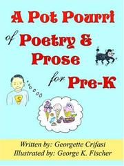 Cover of: A Pot Pourri of Poetry & Prose for Pre-K