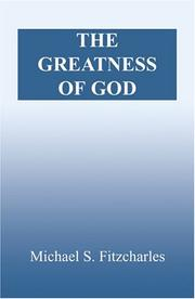 Cover of: The Greatness of God