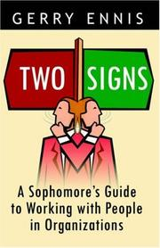 Cover of: Two Signs