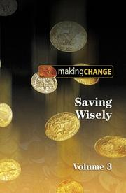 Cover of: Saving Wisely (Making Change, Vol. 3)