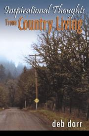 Cover of: Inspirational Thoughts from Country Living