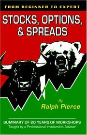 Cover of: Stocks, Options & Spreads