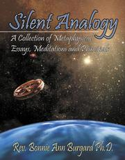 Cover of: Silent Analogy