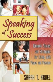 Cover of: Speaking of Success