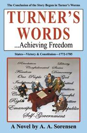 Cover of: Turner's Words