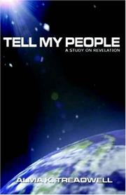 Cover of: Tell My People