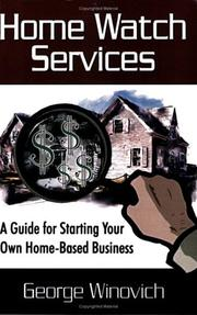 Cover of: Home Watch Services