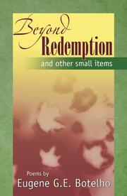 Cover of: Beyond Redempption