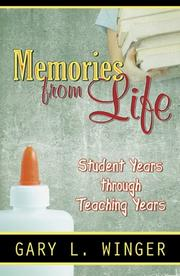 Cover of: Memories from Life