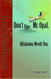 Cover of: Don't Die Mr. Opal