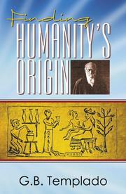 Cover of: Finding Humanity's Origin