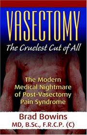 Cover of: Vasectomy