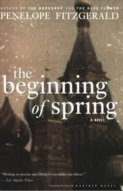Cover of: The beginning of spring