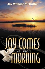 Cover of: Joy Comes in the Morning