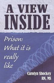 Cover of: A View Inside: Prison