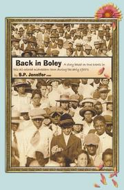 Cover of: Back in Boley