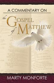 Cover of: A Commentary on the Gospel of  Matthew