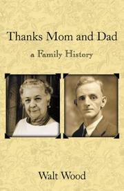 Cover of: Thanks Mom & Dad