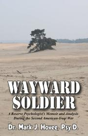 Cover of: Wayward Soldier