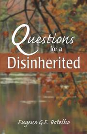 Cover of: Questions for a Disinherited
