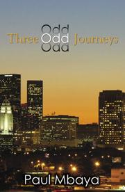 Cover of: Three Odd Journeys