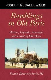 Cover of: Ramblings in Old Paris