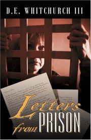 Cover of: Letters From Prison