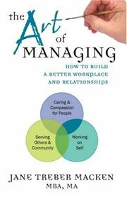 Cover of: The Art of Managing