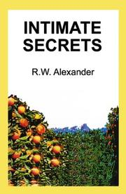 Cover of: Intimate Secrets