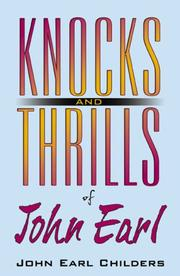 Cover of: Knocks and Thrills of John Earl