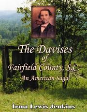 Cover of: The Davises of Fairfield County, SC