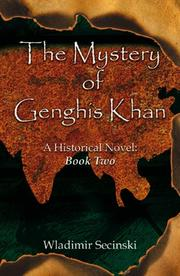 Cover of: The Mystery of Ghengis Khan: A Historical Novel