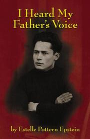Cover of: I Heard My Father's Voice