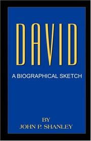 Cover of: David