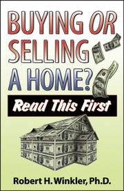 Cover of: Buying or Selling a Home