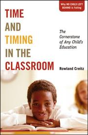 Cover of: Time and Timing in the Classroom