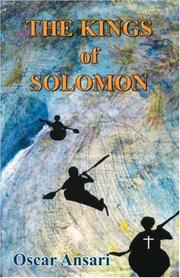 Cover of: The Kings of Solomon | Oscar Ansari