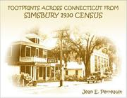 Cover of: Footprints Across Connecticut From Simsbury 1930 Census