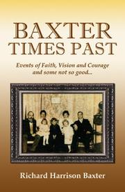 Cover of: Baxter Times Past