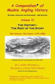 Cover of: A Compendium of Muskie Angling History