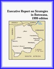 Cover of: Executive Report on Strategies in Botswana