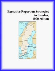 Cover of: Executive Report on Strategies in Sweden
