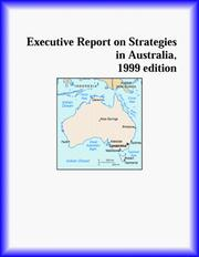Cover of: Executive Report on Strategies in Australia