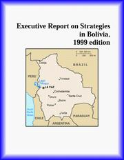 Cover of: Executive Report on Strategies in Bolivia