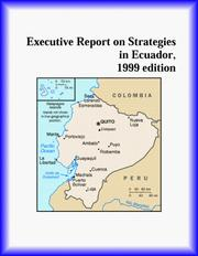 Cover of: Executive Report on Strategies in Ecuador